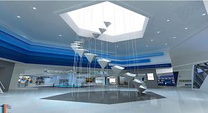 一个展示空间的设计和结构值得注意的地方有哪些?