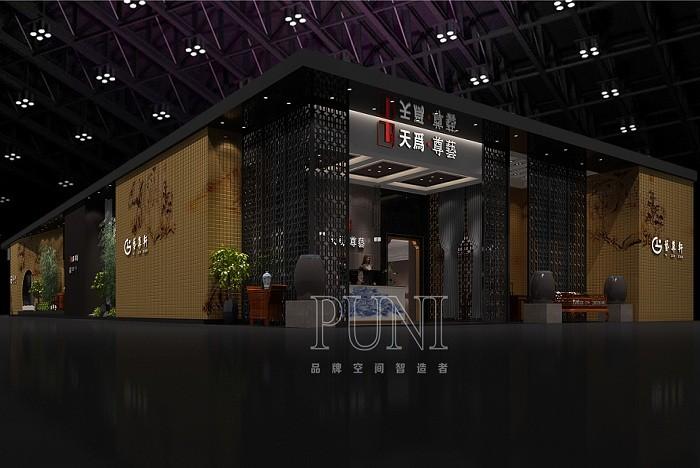 艺尊轩(鲁班传奇)家具展台设计搭建