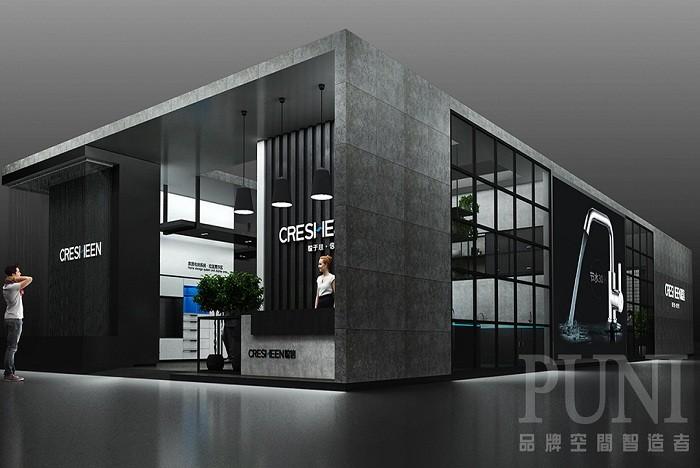 广东聪信家居展台设计