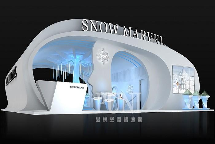 SNOW MARVE雪之谜化妆品展台设计