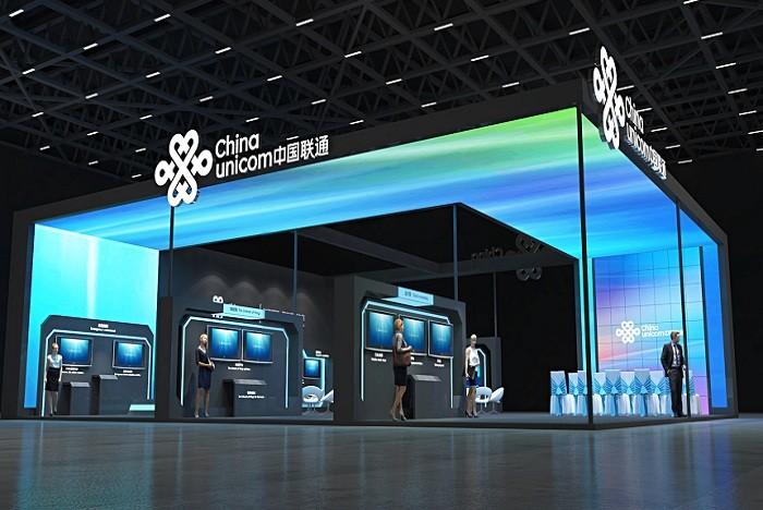 中国联通展台设计