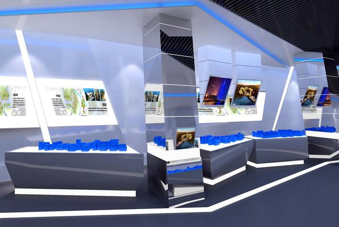 广州猎德污水处理厂-展厅设计