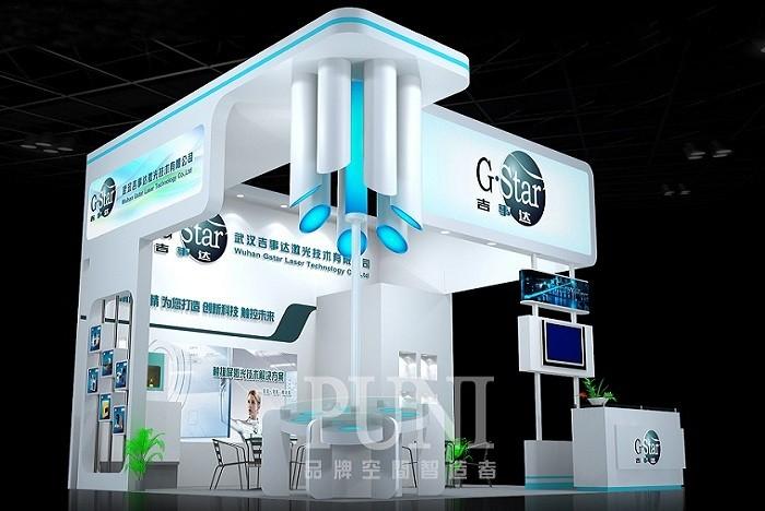 吉事达科技展台设计