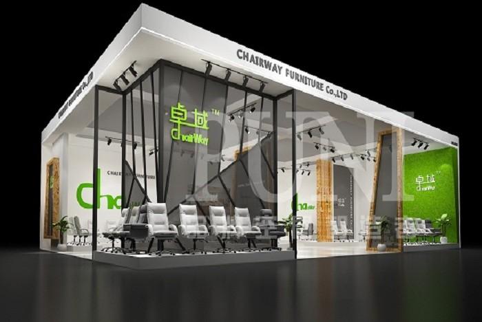 卓域办公-展台设计