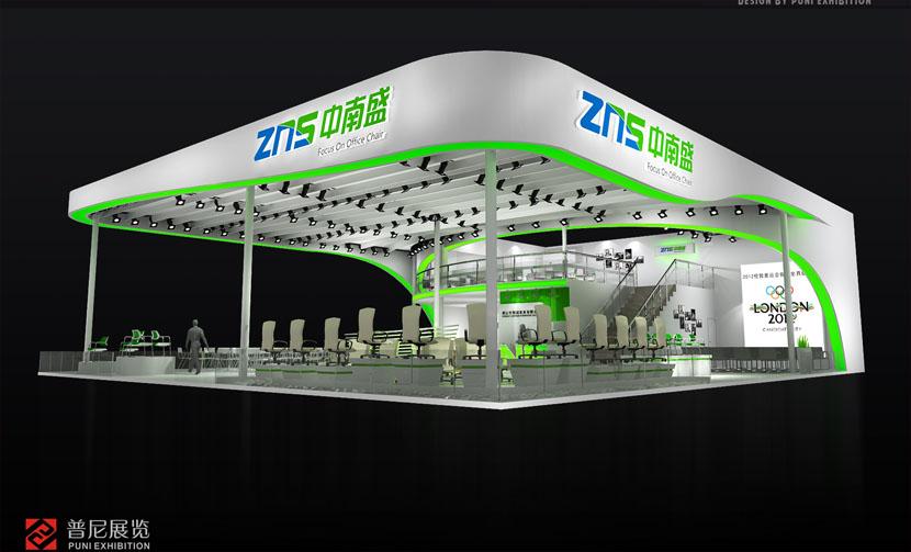 广州琶洲展馆 展台结构